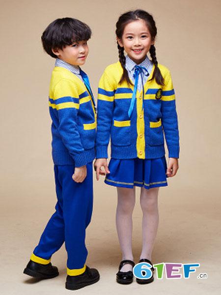 七朵童爱童装品牌毛衫幼儿园校服