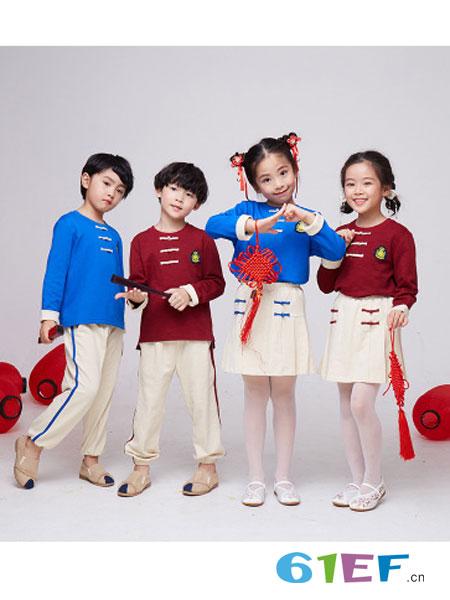 七朵童爱童装品牌汉服校服童装