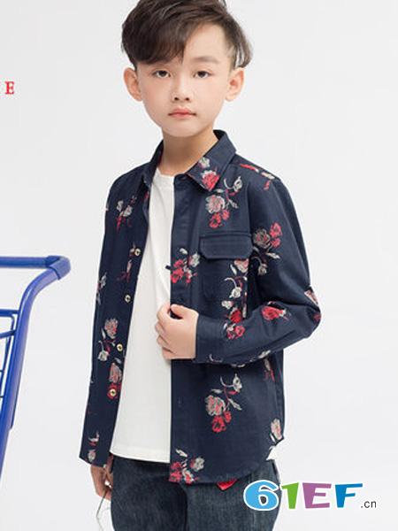 尼克nickie龙8国际娱乐官网品牌2018秋冬纯棉休闲衬衣潮流