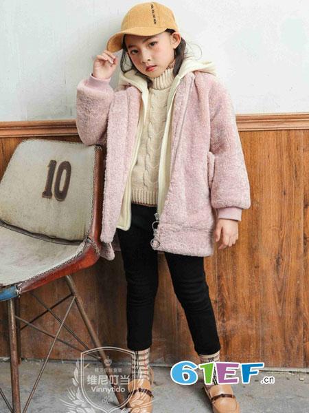 维尼叮当龙8国际娱乐官网品牌2018秋冬毛羊剪绒廓形机车皮草外套