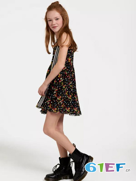 JillMitch童装童装品牌无袖连衣裙