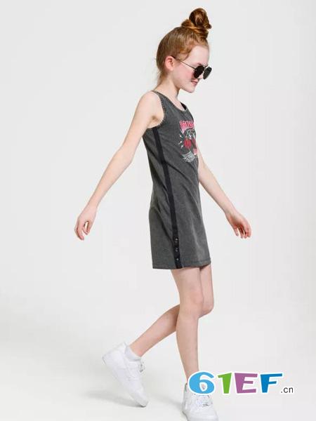 JillMitch童装童装品牌无袖T恤裙