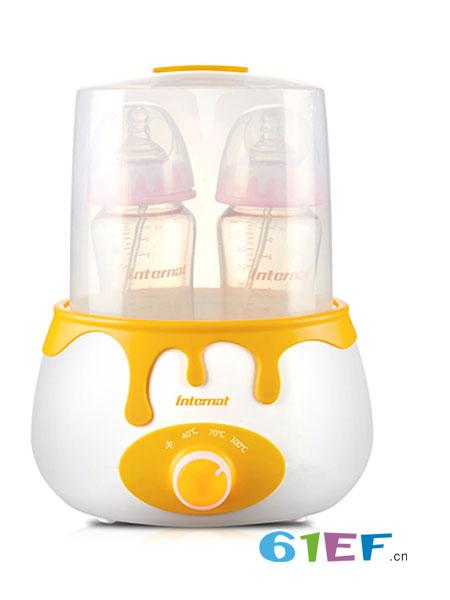 益特龙婴童用品2018春夏智能电子双瓶温奶器 旋钮式