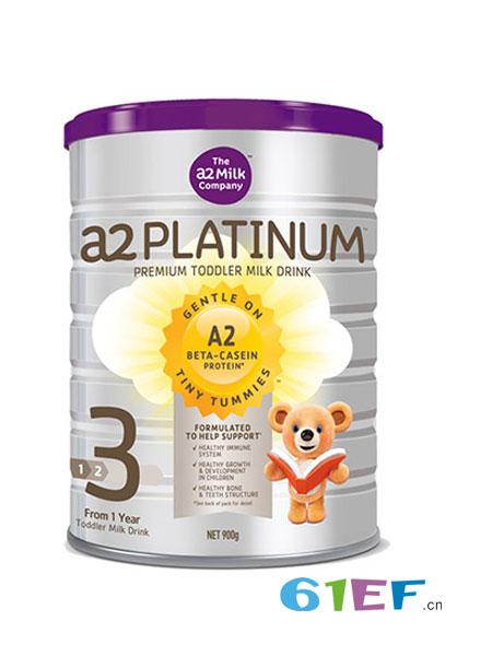 a2奶粉婴儿食品2018春夏婴儿配方奶粉3段