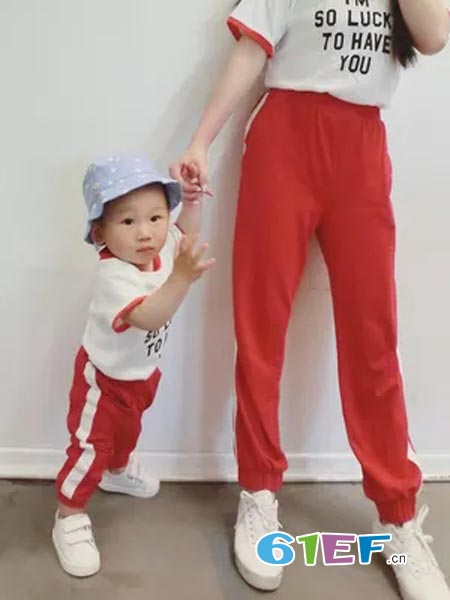 心然童童装品牌运动套装