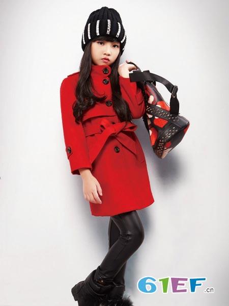 橘子缘龙8国际娱乐官网品牌绑带收腰连衣裙