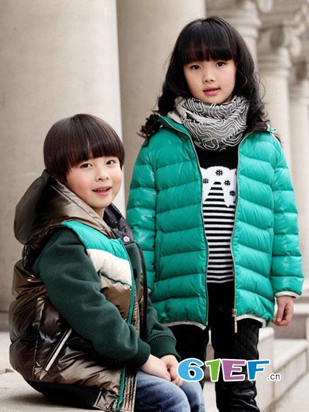 辛芭狗童装品牌2018秋冬女童短款棉服外套