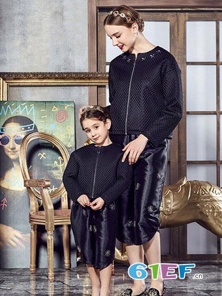 爱法贝龙8国际娱乐官网品牌2018秋冬 圆领百搭长袖棉服