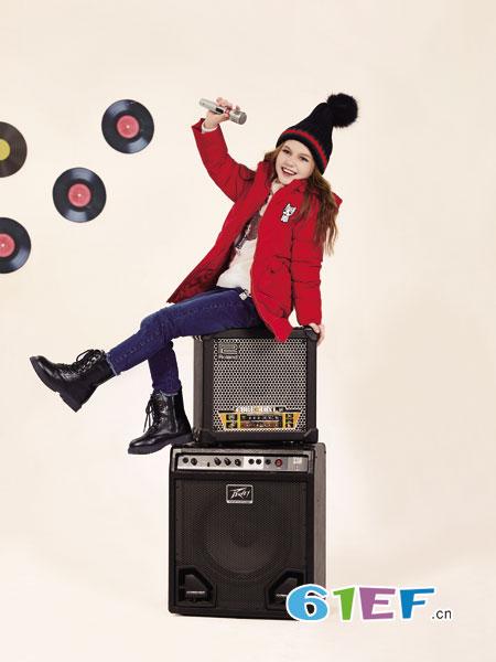 铅笔俱乐部龙8国际娱乐官网品牌2018秋冬羽绒服中长款韩版加厚外套