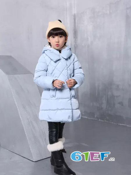 可人公主童装品牌2018秋冬女童棉衣棉袄韩版加厚短款棉服外套