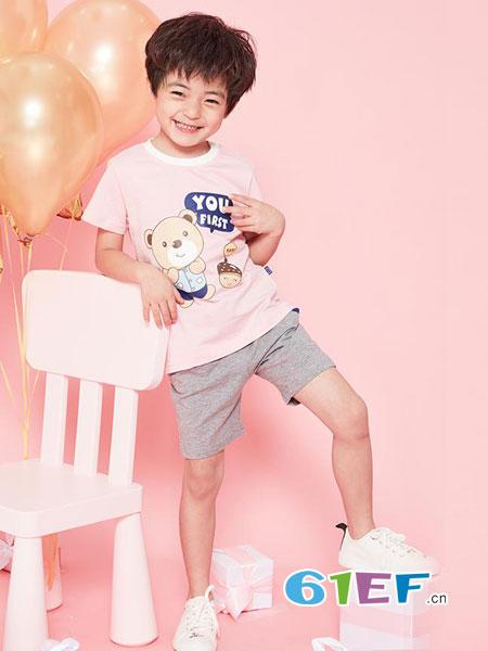 安塞尔斯龙8国际娱乐官网品牌2018春夏短袖T恤套装新款上衣潮