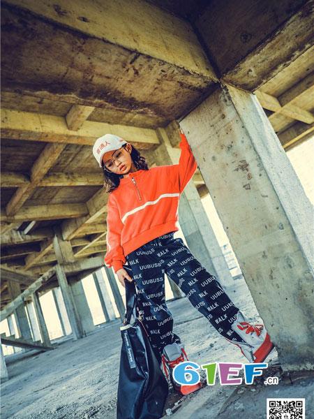 优优巴斯龙8国际娱乐官网品牌2018秋冬8新款韩版洋气童裤中大童修身长裤
