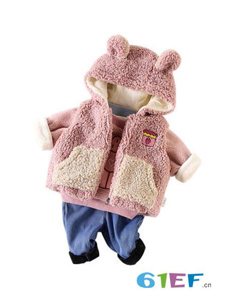天冷了 给宝宝添件时尚可爱的三件套吧