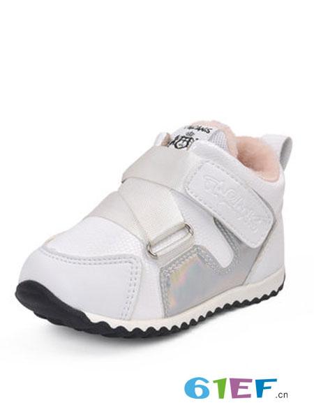 泰兰尼斯童鞋品牌2018秋冬小童鞋子加绒保暖运动鞋潮
