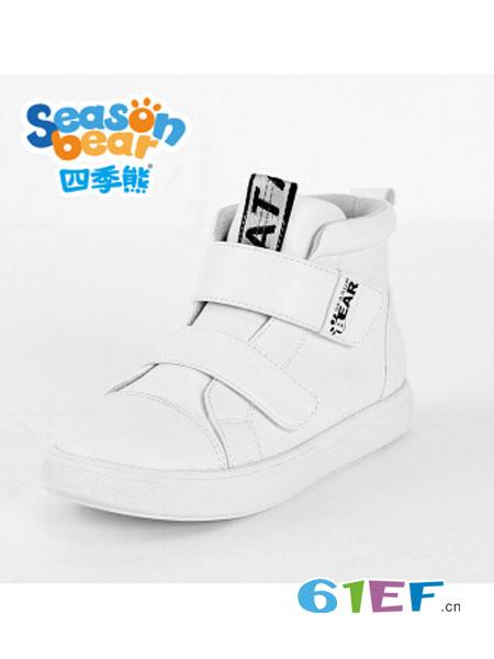 四季熊童装品牌2018秋冬休闲防滑运动鞋小学生轻便休闲鞋