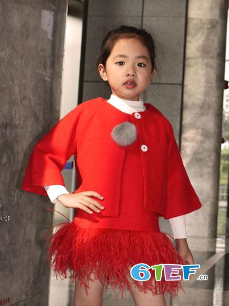 可米芽童装品牌2018秋冬洋气韩版潮衣针织衫
