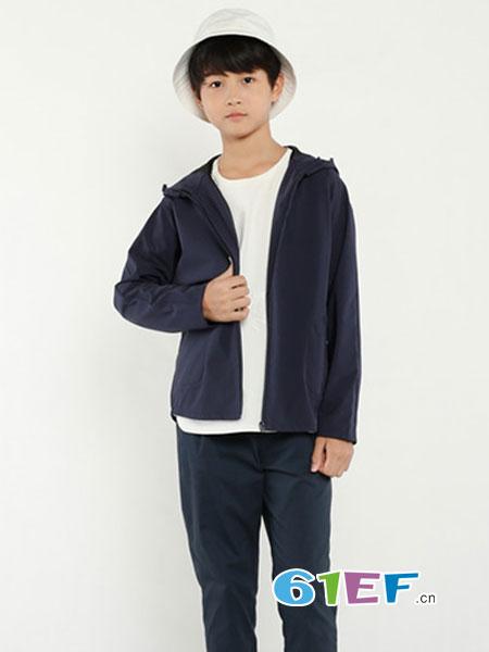 JAKET童装品牌2018秋冬休闲圆领上衣