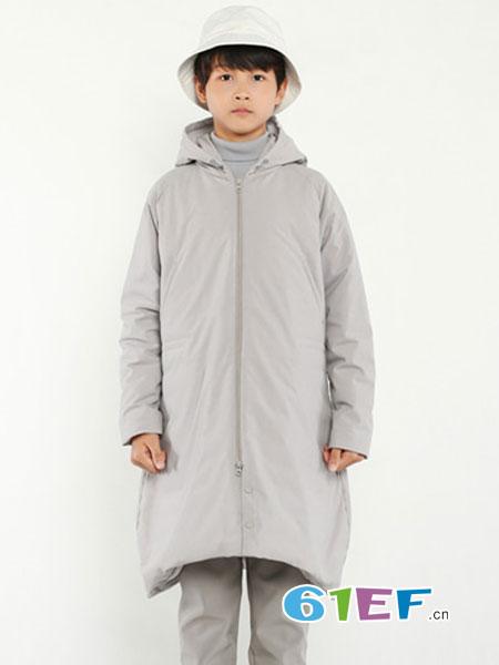 JAKET童装品牌2018秋冬中长款韩版潮流帅气白鸭绒加厚保暖外套