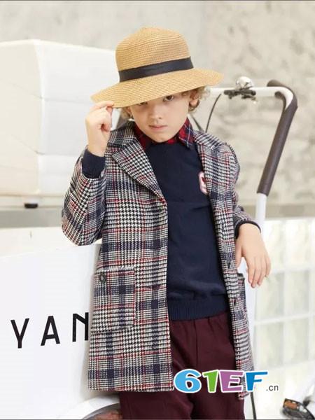 爱登堡童装品牌2018秋冬