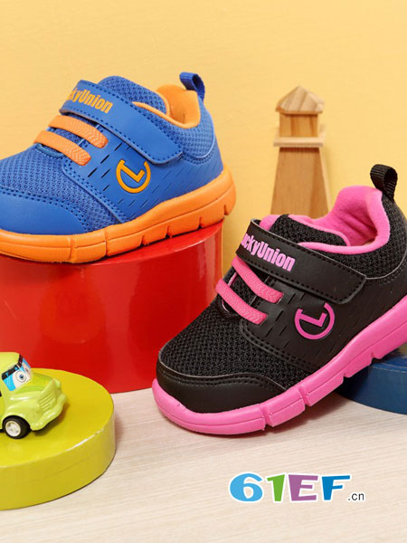 乐客友联Lucky Union童鞋童鞋品牌2018秋冬舒适 休闲学步鞋 运动鞋 女童