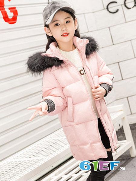 圣逸亲童装品牌2018秋冬洋气棉袄韩版女童装
