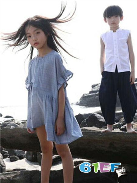 有末童装品牌2019春夏短袖上衣 文艺风格百搭T恤