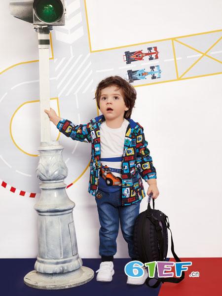 铅笔俱乐部龙8国际娱乐官网品牌2018秋冬男童新款小童外套潮