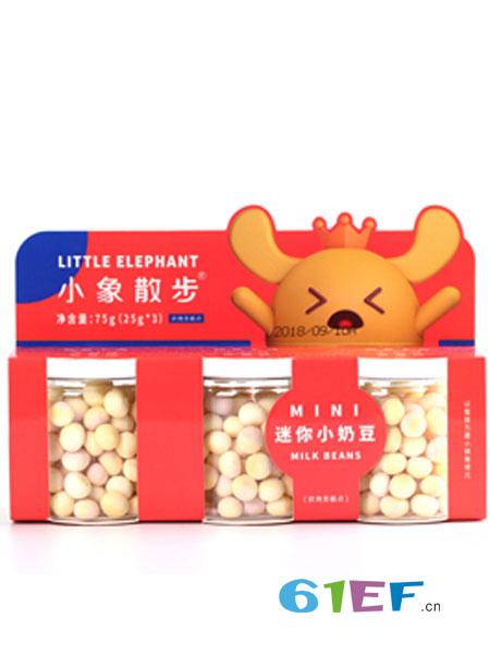 小象散步婴儿食品2018春夏迷你小奶豆 红色装