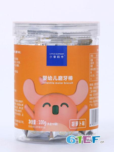 小象散步婴儿食品2018春夏婴幼儿磨牙棒 胡萝卜味