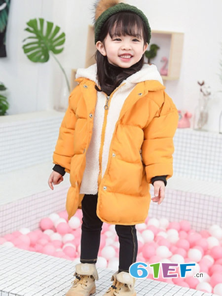 可娃衣童装品牌2018秋冬假两件棉服潮