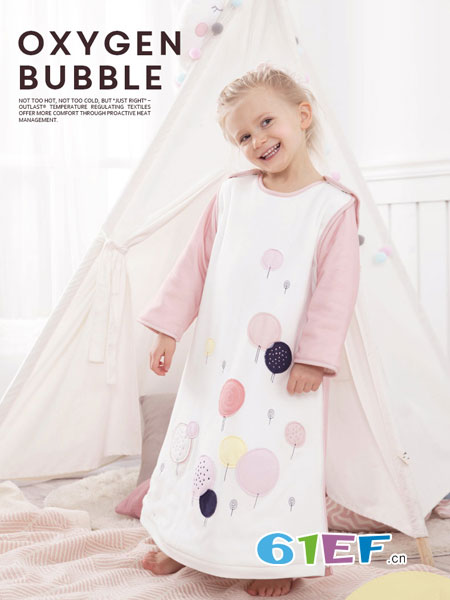 i-baby童装品牌2018秋冬图案长款连衣裙