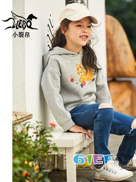 裂帛龙8国际娱乐官网品牌2018冬季卫衣洋气刺绣