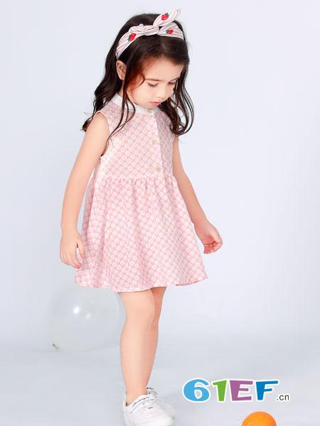 波波龙2019春季女童连衣裙 让宝贝更美丽动人