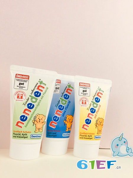 Milk Family童装品牌2018秋冬乳牙可吞咽牙膏果味含氟无氟