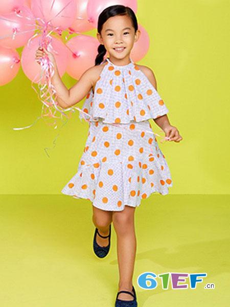 PIILLOW童装品牌2018秋冬新款儿童裙小童洋气裙子公主裙