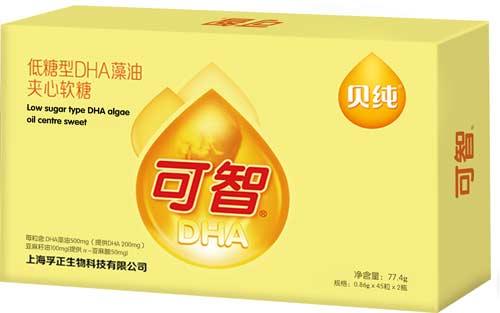 贝纯可智低糖DHA藻油夹心软糖