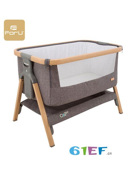 芙儿优婴童用品便携式婴儿床 可折叠宝宝bb床亲子床