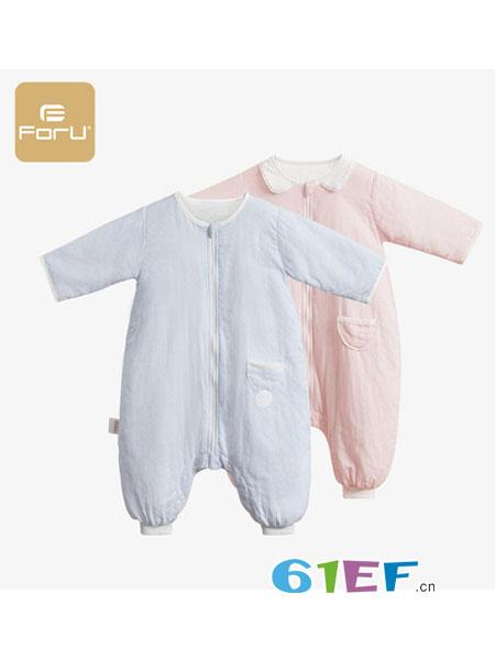 芙儿优婴童用品四季分腿睡袋防踢睡衣