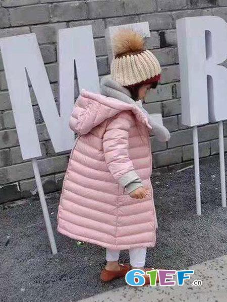 琴小鸥qinxiaoou童装品牌2018秋冬轻薄童装儿童棉袄潮
