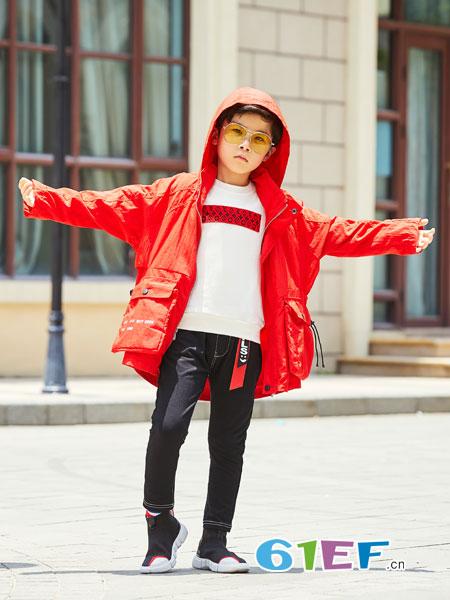拉斐贝贝童装品牌2018秋冬卫衣两件套时尚上衣欧洲短裙修身套装-拉图片