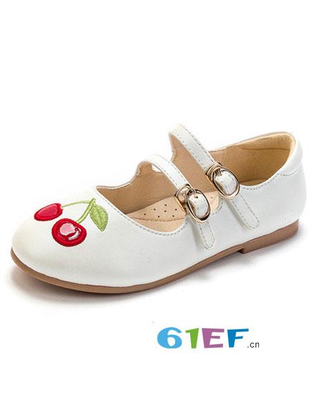 富罗迷童装品牌2019春季皮鞋儿童真皮公主鞋校园鞋