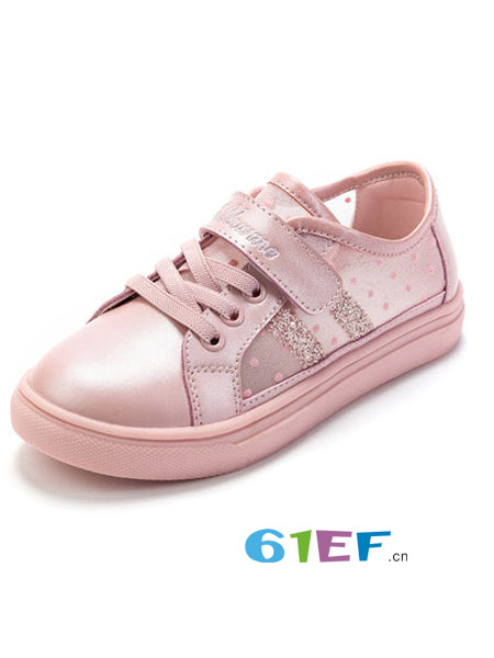 富罗迷童装品牌2019春季超火休闲鞋网红鞋