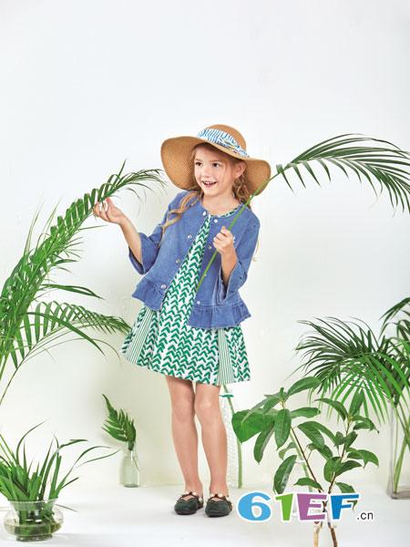 铅笔俱乐部童装品牌2019春夏拼接小香风外套甜美短外套