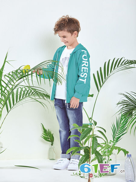 铅笔俱乐部童装品牌2019春夏洋气外套时尚童装潮衣