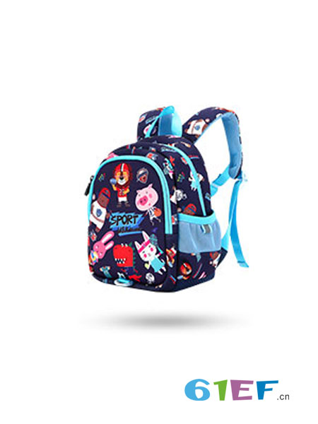 UEK婴童用品2018秋冬书包猫头鹰卡通双肩背包