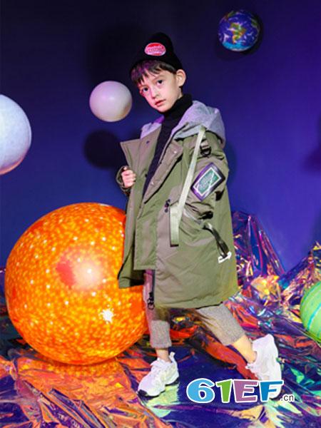 汤尼罗宾童装品牌2018秋冬儿童羽绒服中长款男孩加厚中大童外套