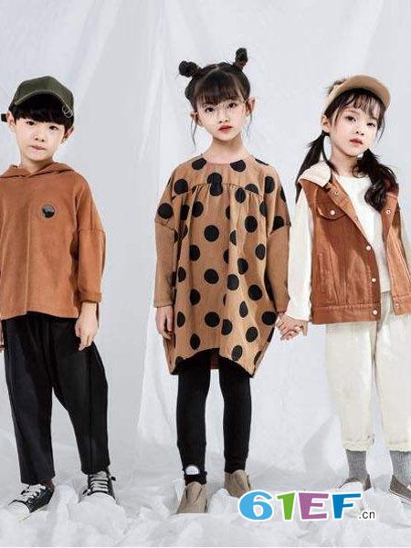 魔方童装品牌2019春季儿童波点连衣裙公主连衣裙女童裙子