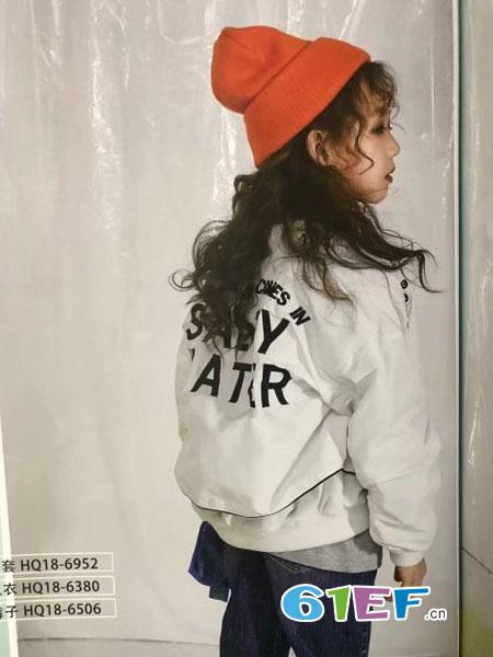 魔方童装品牌2019春季时尚休闲宽松棒球服