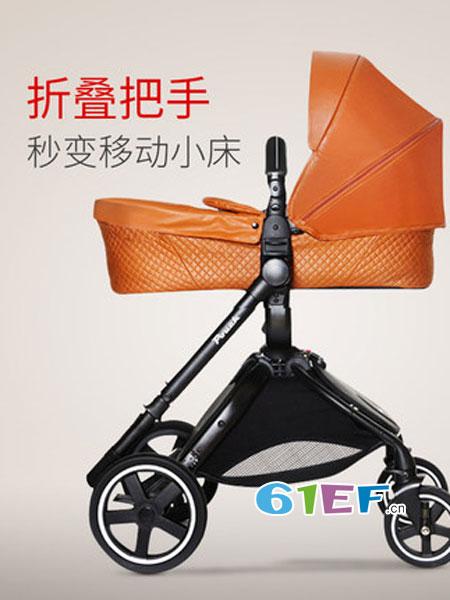 妈咪宝婴童用品推车高景观避震折叠儿童手推车