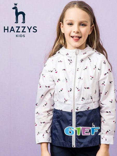哈吉斯童装品牌2019春季裙式上衣两件套